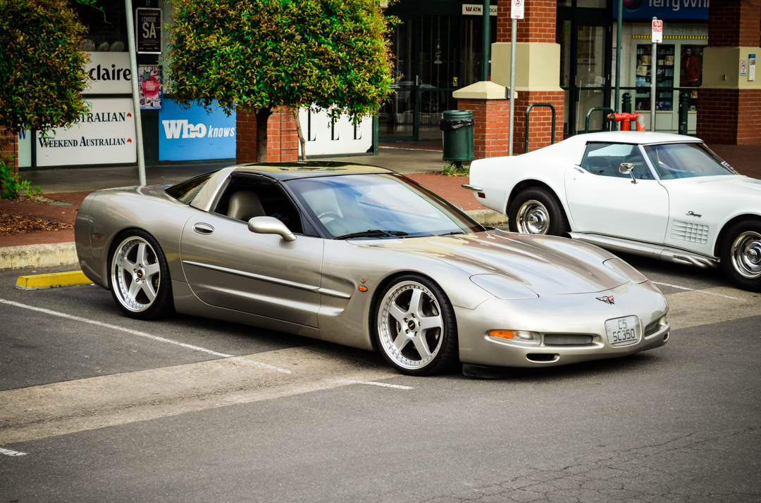 Cars and Coffee Unley Jan 2017 Corvette