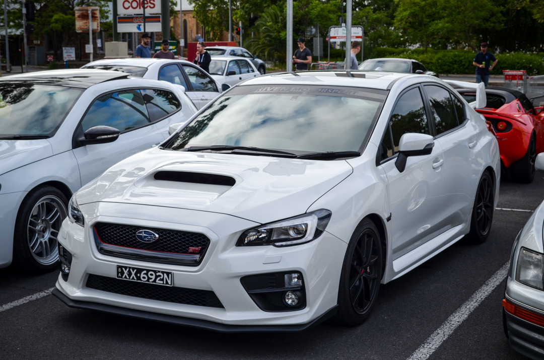 Cars and Coffee Unley Jan 2017 WRX