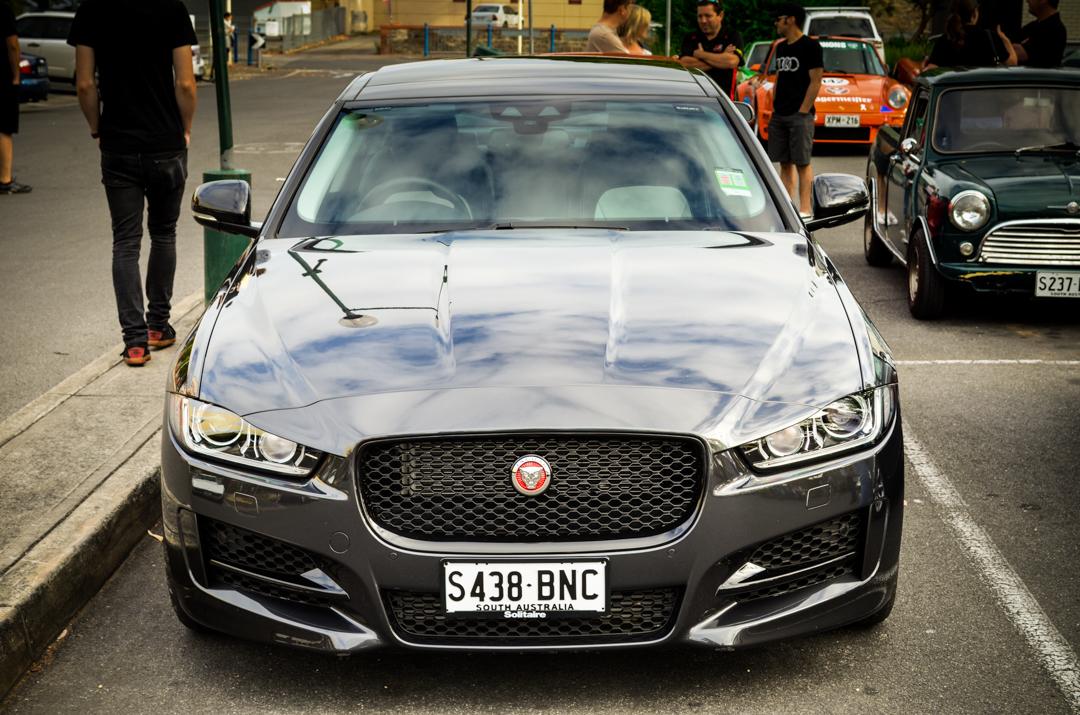 Cars and Coffee Unley Jan 2017 Jaguar