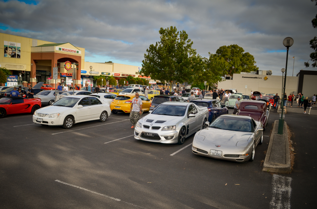 Cars and Coffee Unley Jan 2017