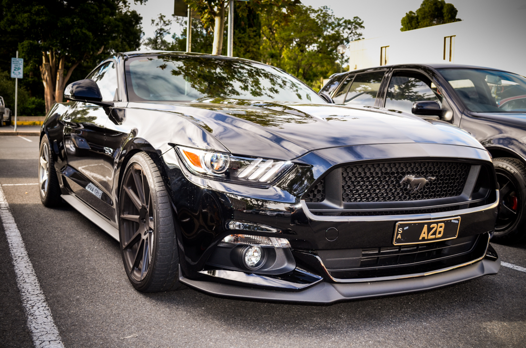 Cars and Coffee Unley Jan 2017 Ford Mustang