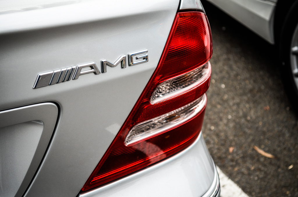 AMG Mercedes at Coffee and Cars Blackwood April 2017