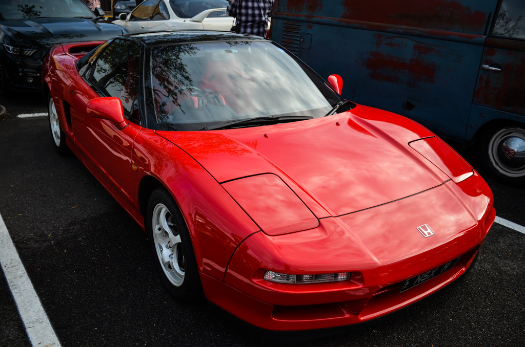 Honda NSX at Coffee And Cars Blackwood March 2017