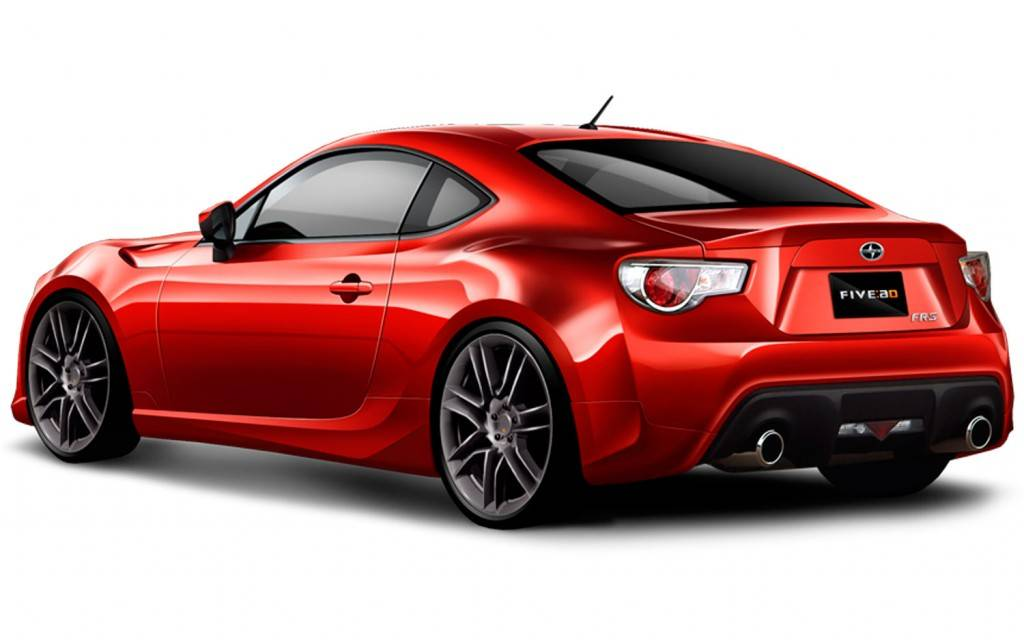 Scion FR-S Five Axis Bodykit