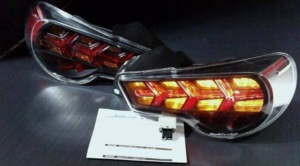 Buddyclub LED tail lights Toyota 86 and Subaru BRZ