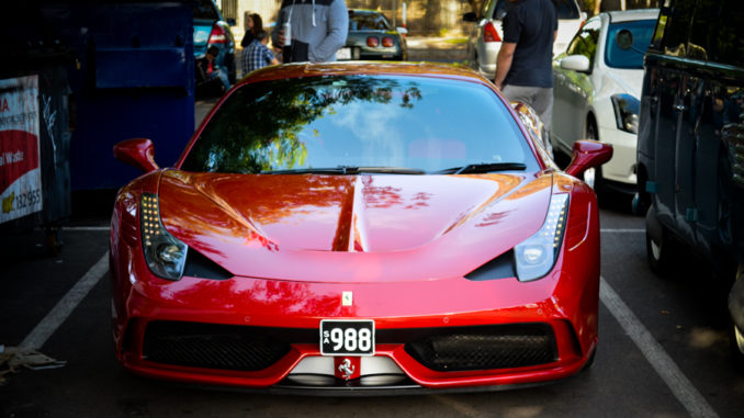Ferrari Cars and Coffee