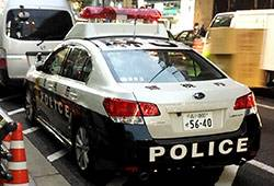 86modified in Japan police car