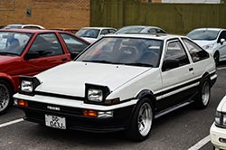 Toyota AE86 history